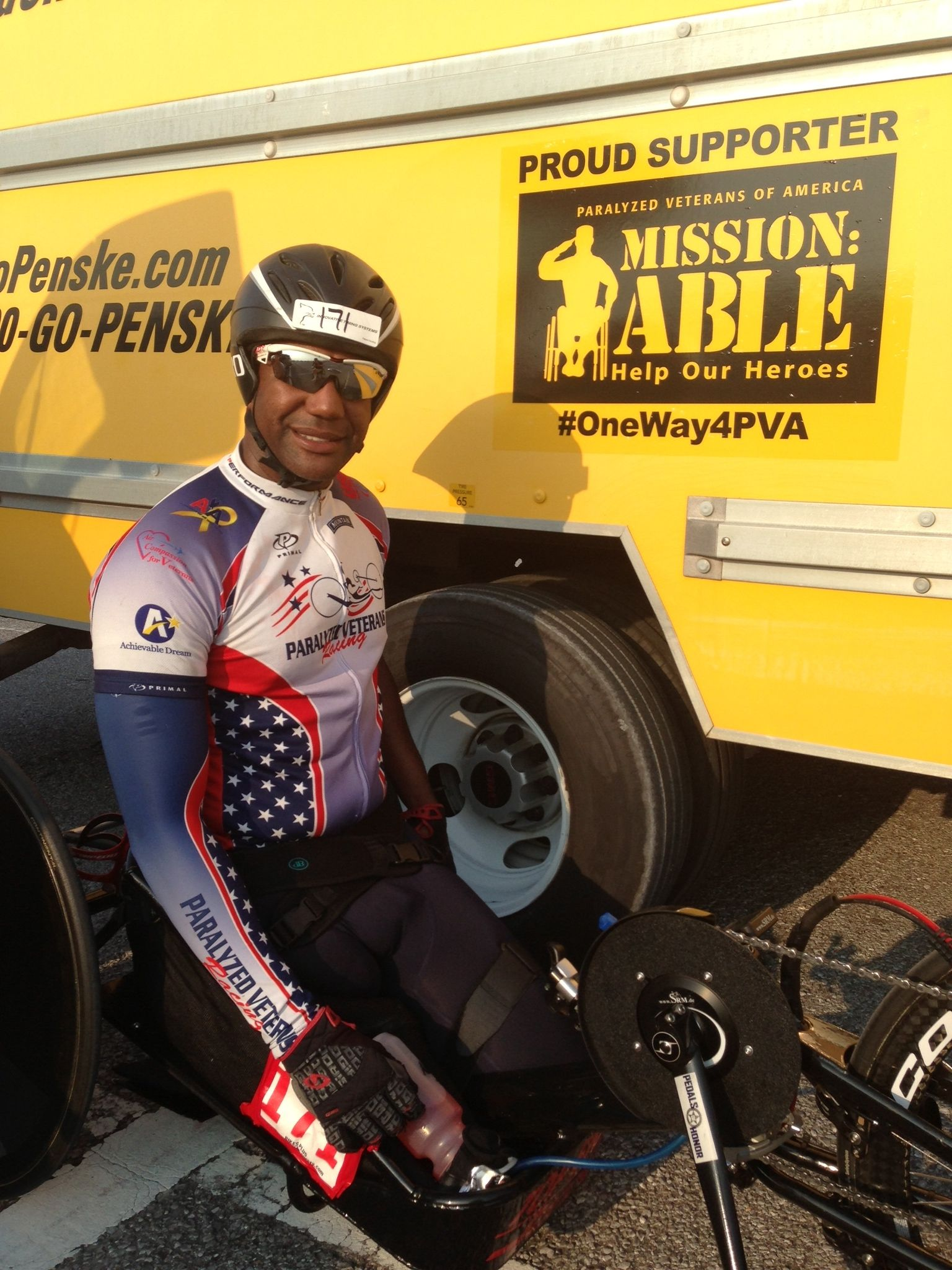 Penske Continues Support of Paralyzed Veterans of America