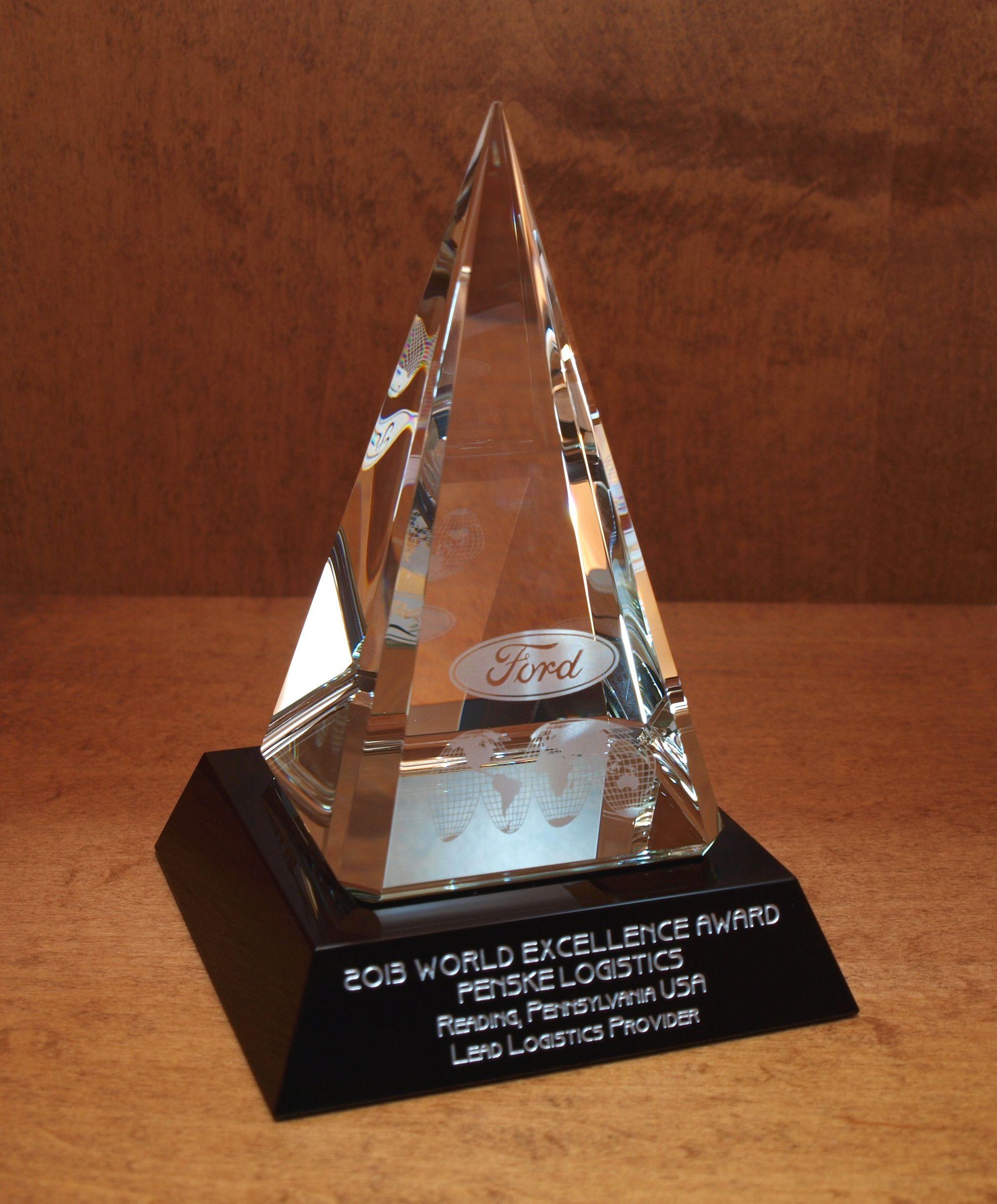 Penske Logistics Given Fourth Ford World Excellence Award