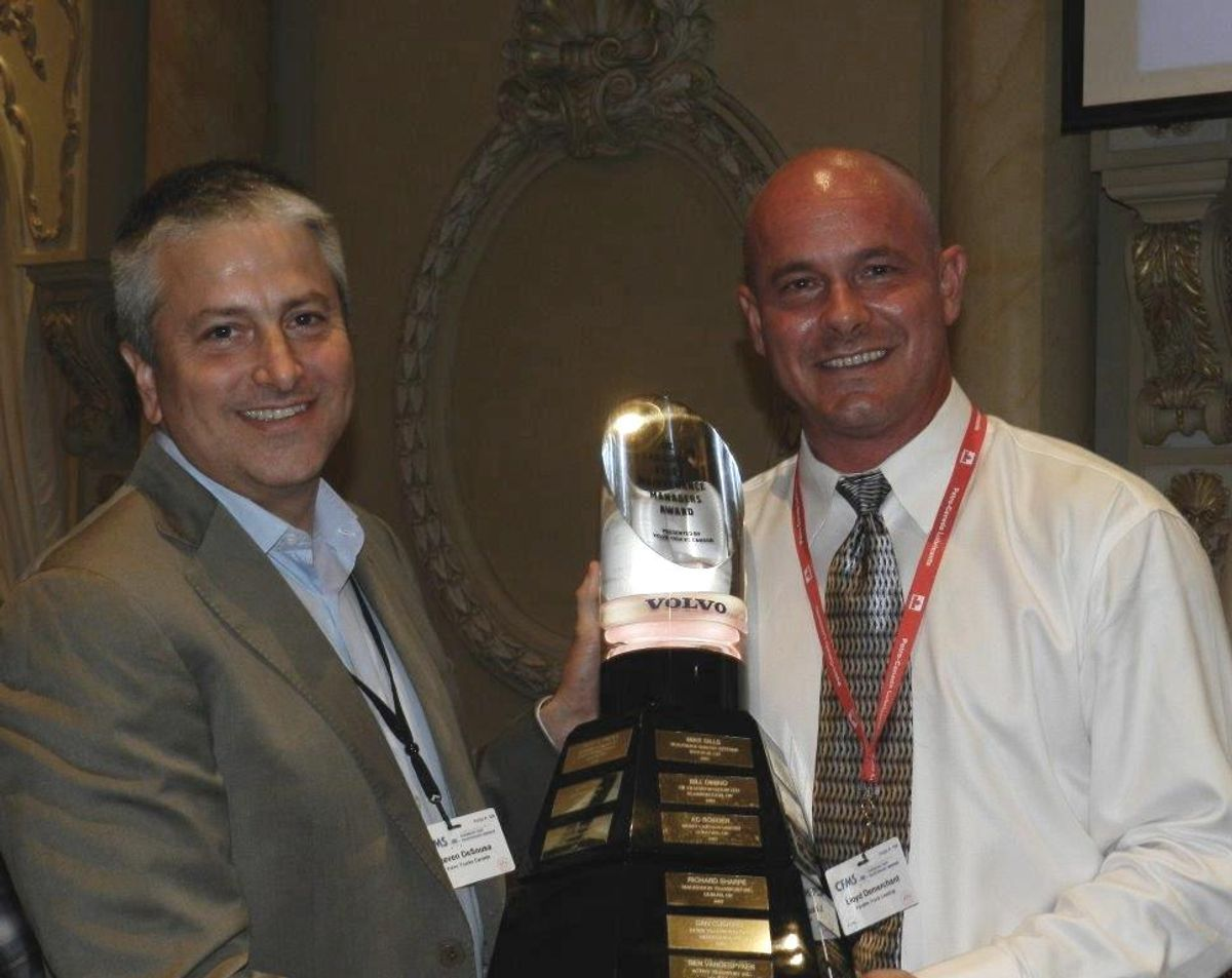 Penske Associate Gets Fleet Maintenance Manager of the Year Award
