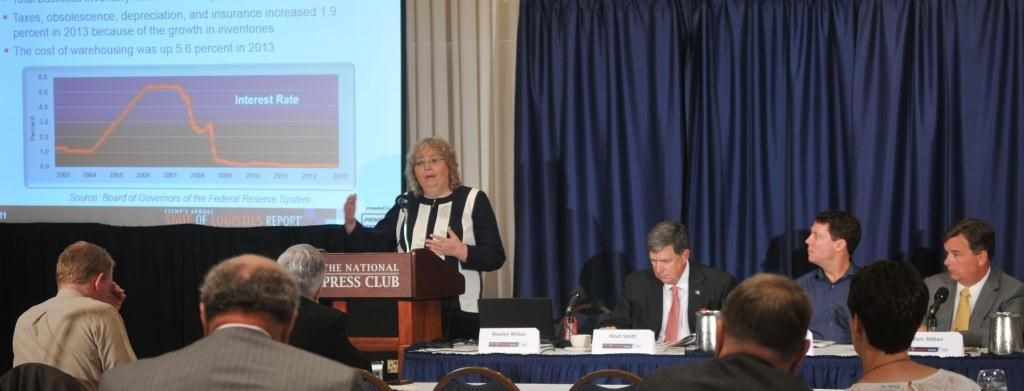 Tune in to DC Velocity Webcast Discussing State of Logistics Report