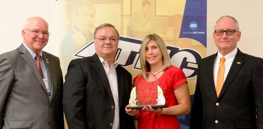 Penske Honored with ATMC Excellence in Maintenance Training Award