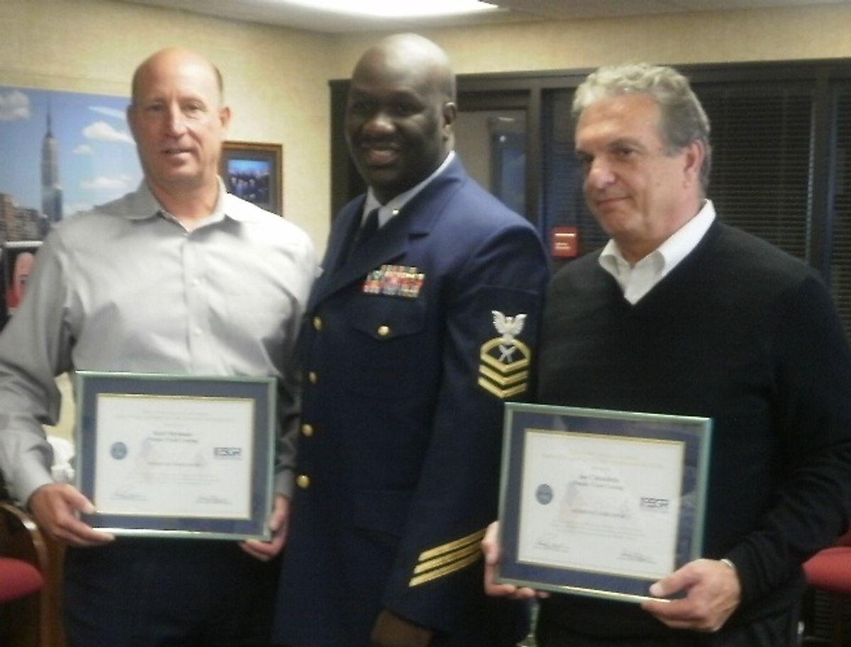 U.S. Military Guard and Reserve Recognizes Penske