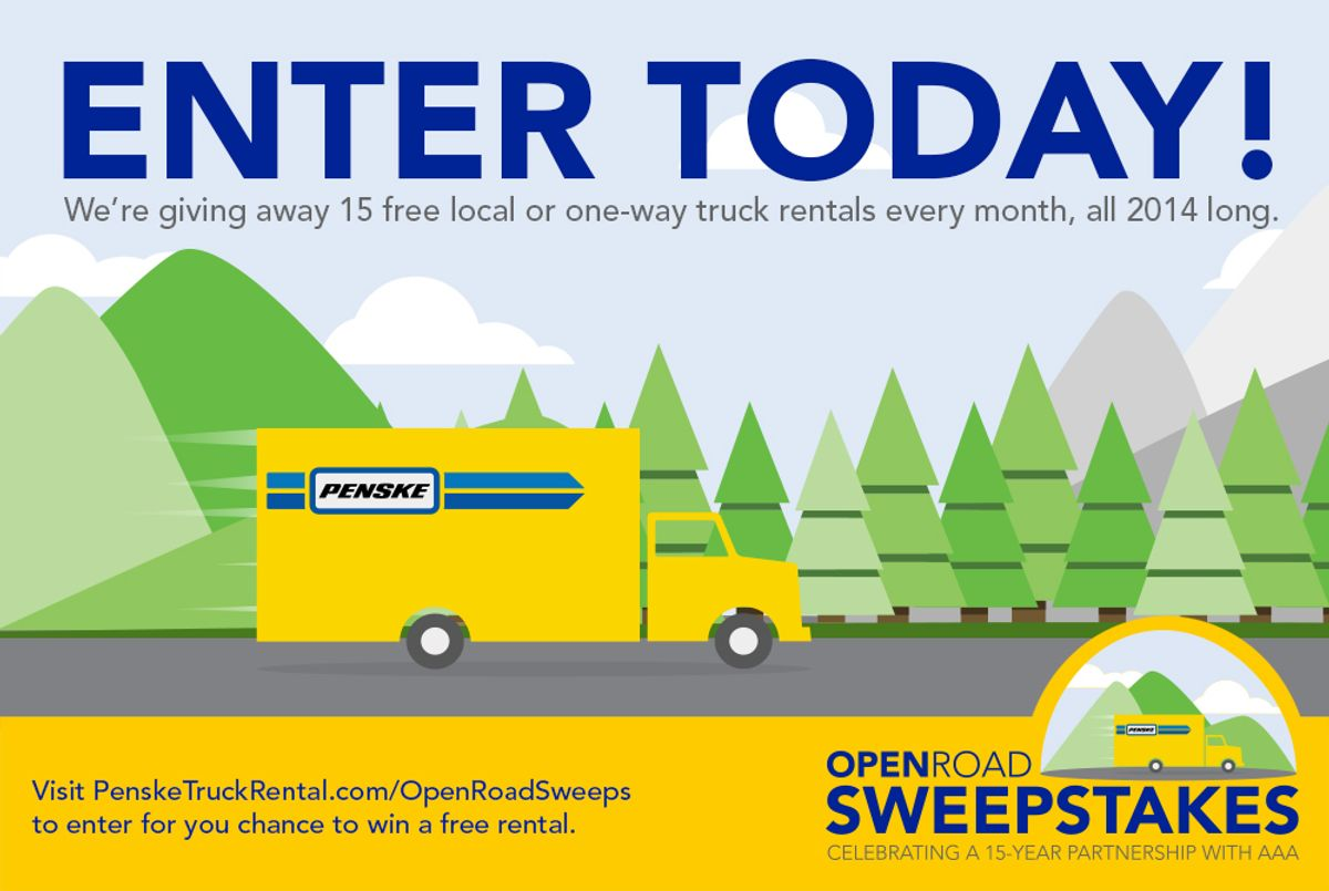 Penske's Open Road Sweepstakes Marks 15 Years with AAA