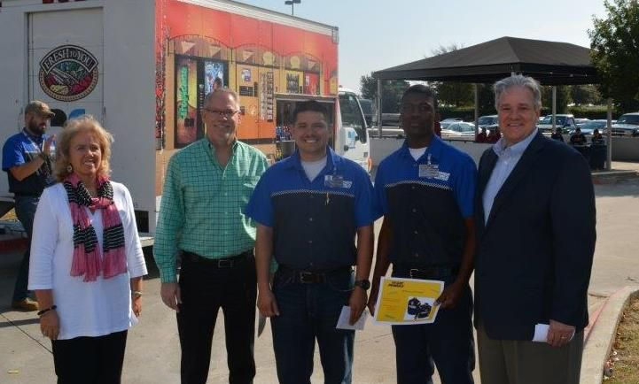 UTI Students Win Drawing at Penske Recruiting Event