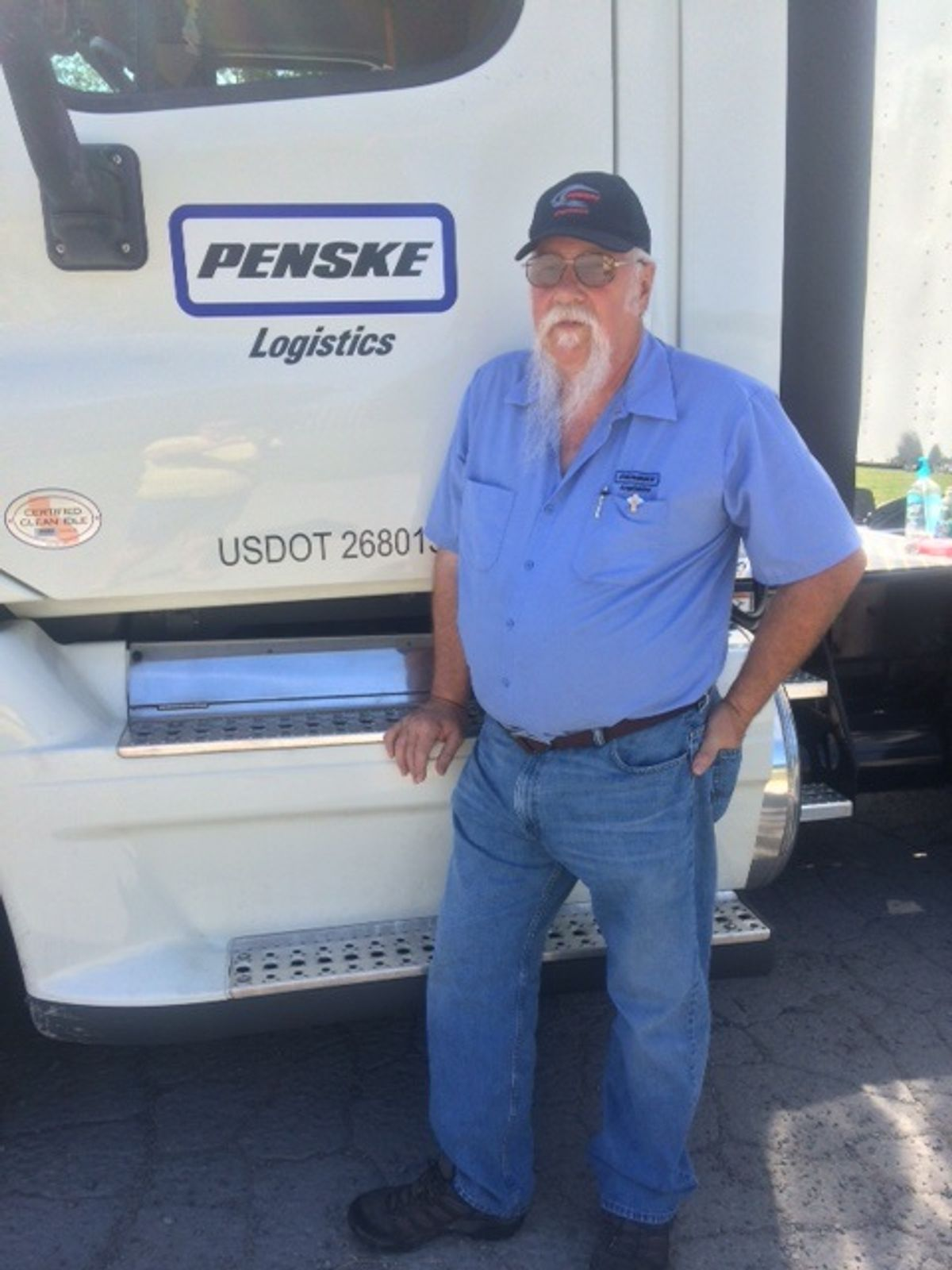 Truck Driving Pair's Chance Meeting Leads To 20-Year Love Story