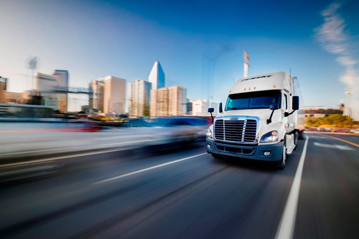 Connecting with People and Places Drives Truckers