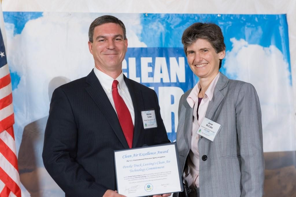 Penske Wins First-Ever U.S. EPA Clean Air Excellence Award