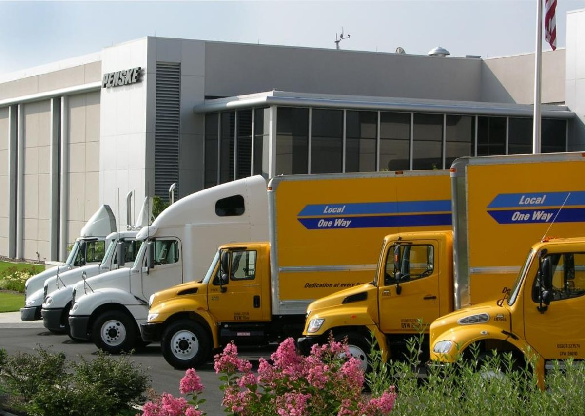 Penske Truck Leasing is No. 79 on InformationWeek Elite 100 List