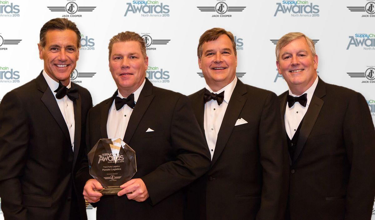 Penske Logistics Winner of NA 3PL Award by Automotive Supply Chain