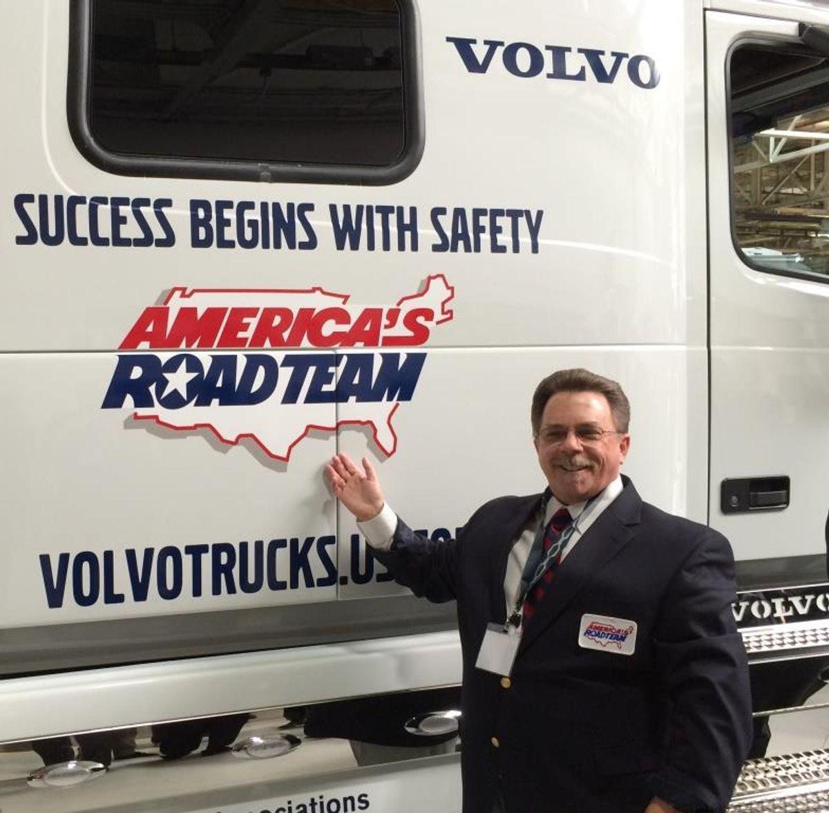 Penske Logistics' Neil Kirk Named ATA America's Road Team Captain