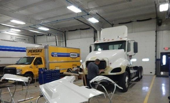 Penske Opens Truck Collision Repair Center in Fairless Hills, PA