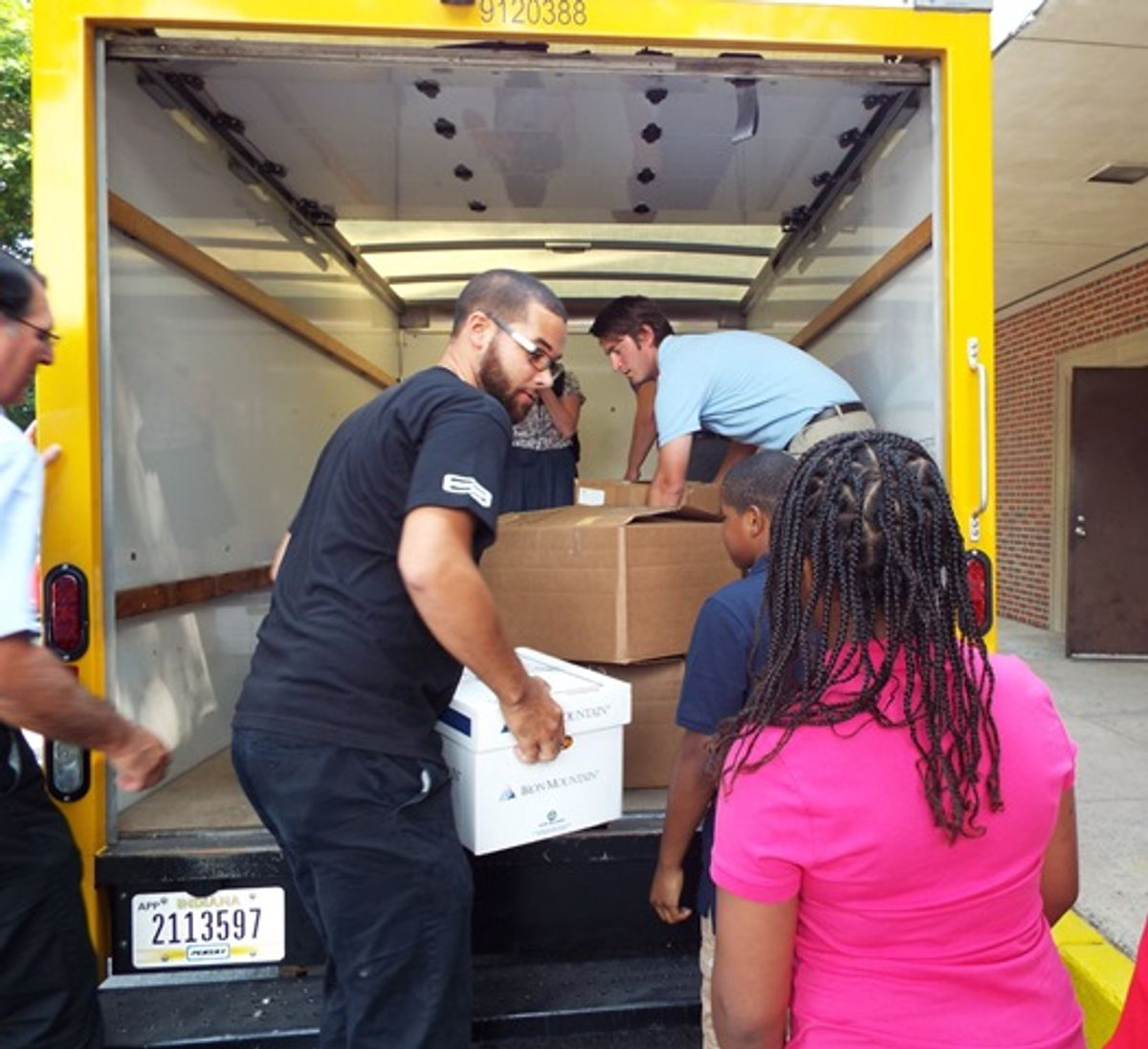 Penske Helps Supply Students for New School Year