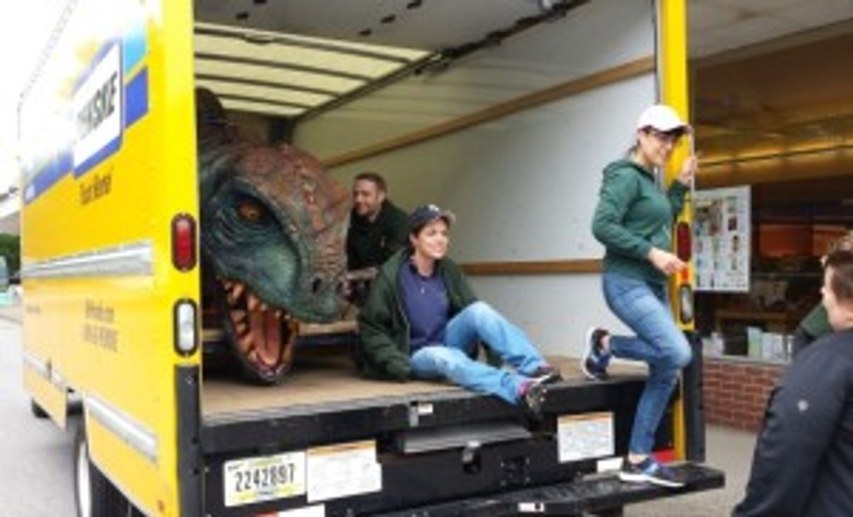 Baby Dino's Road Trip Saved from Brink of Extinction