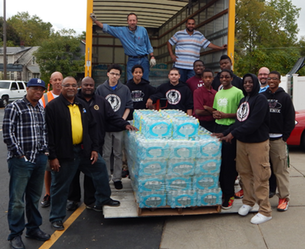 Flint, Michigan, Children Receive Much-Needed Water Donation