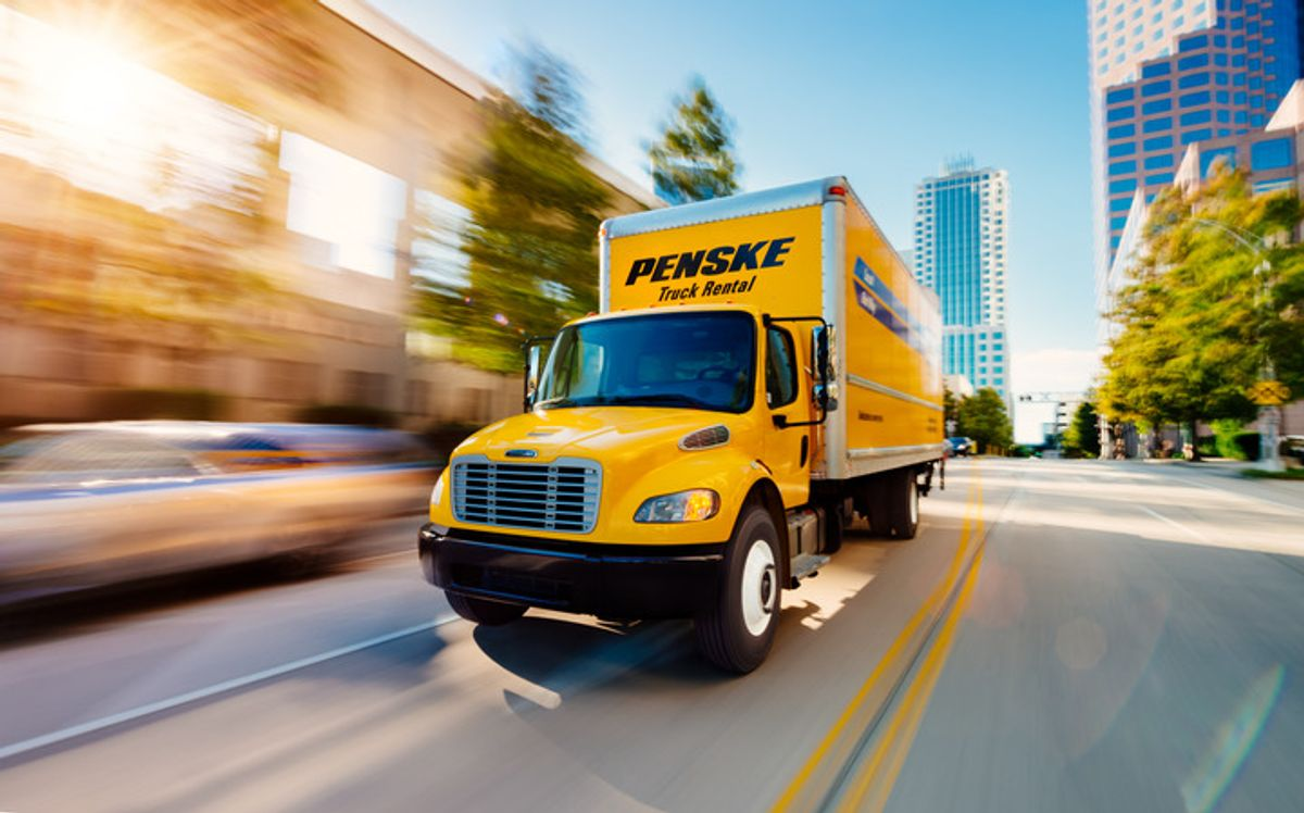 Penske Truck Leasing Facility in Spartanburg, South Carolina, Closed After Tornado