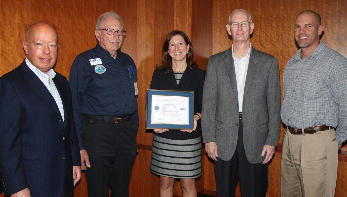 Penske Receives Patriot Award