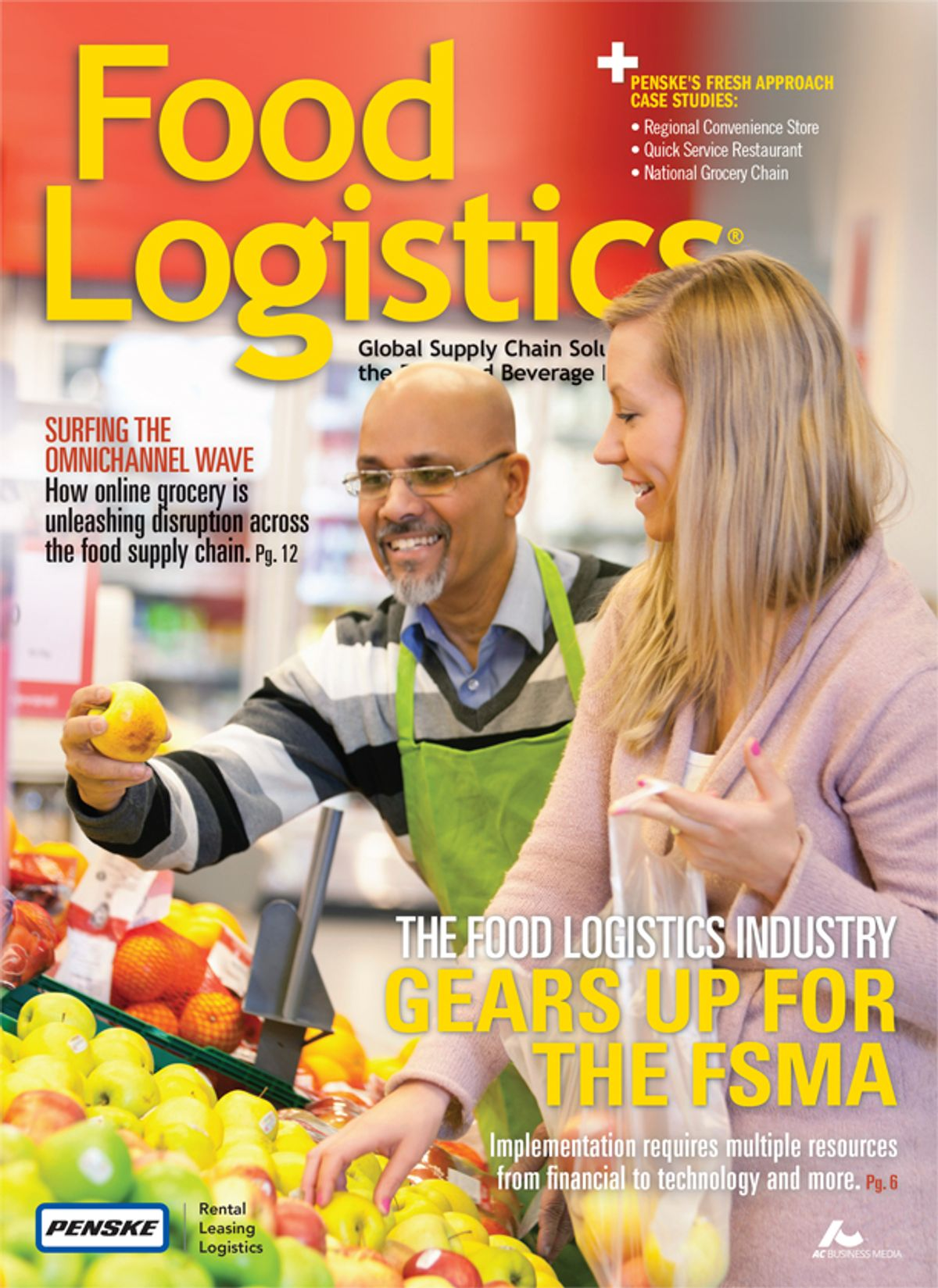 Food Logistics Magazine and Penske Team Up for Special Edition