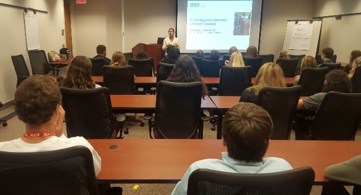 Penske Offers Students Tips for Career Success
