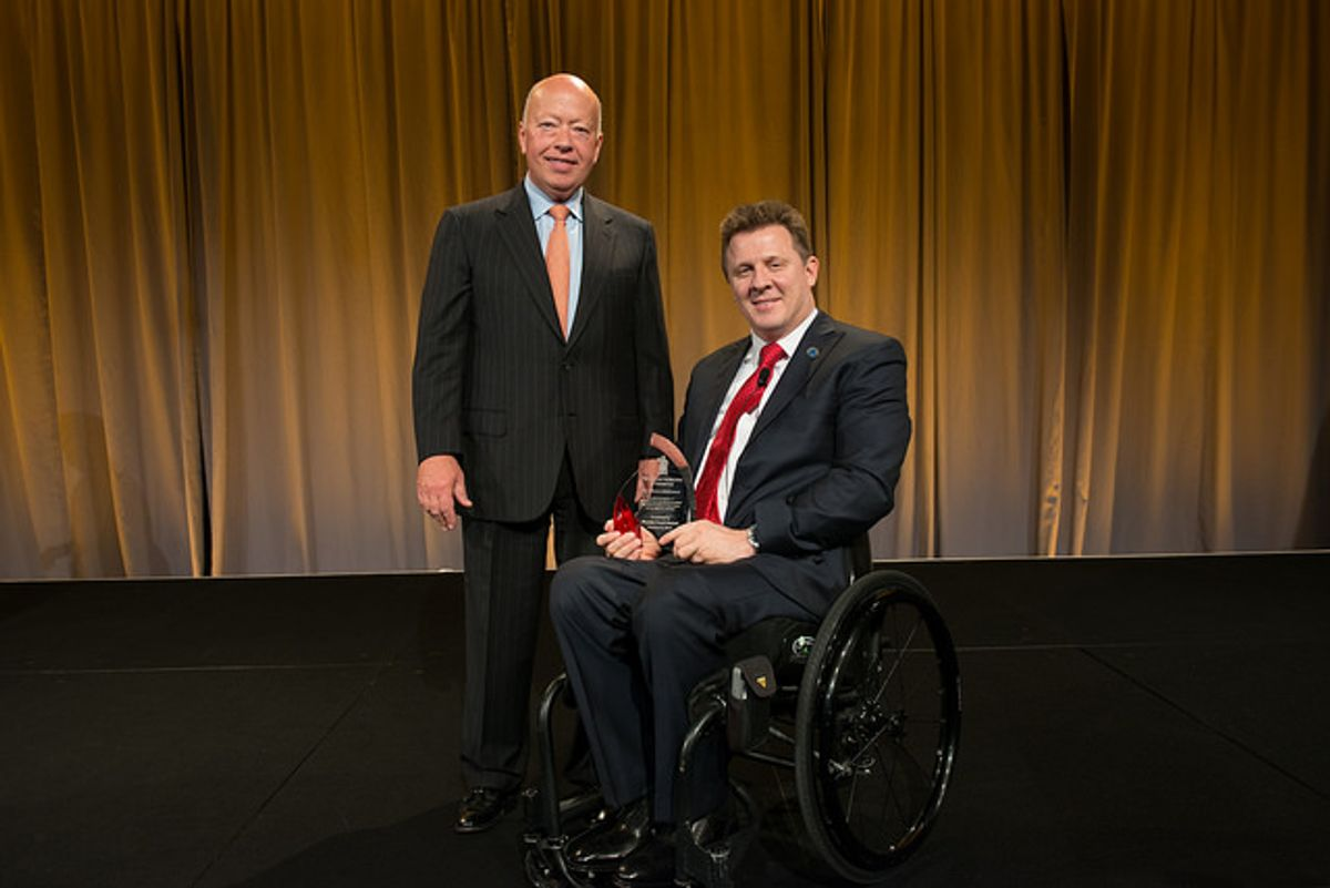 Penske Recognized for Support of Paralyzed Veterans