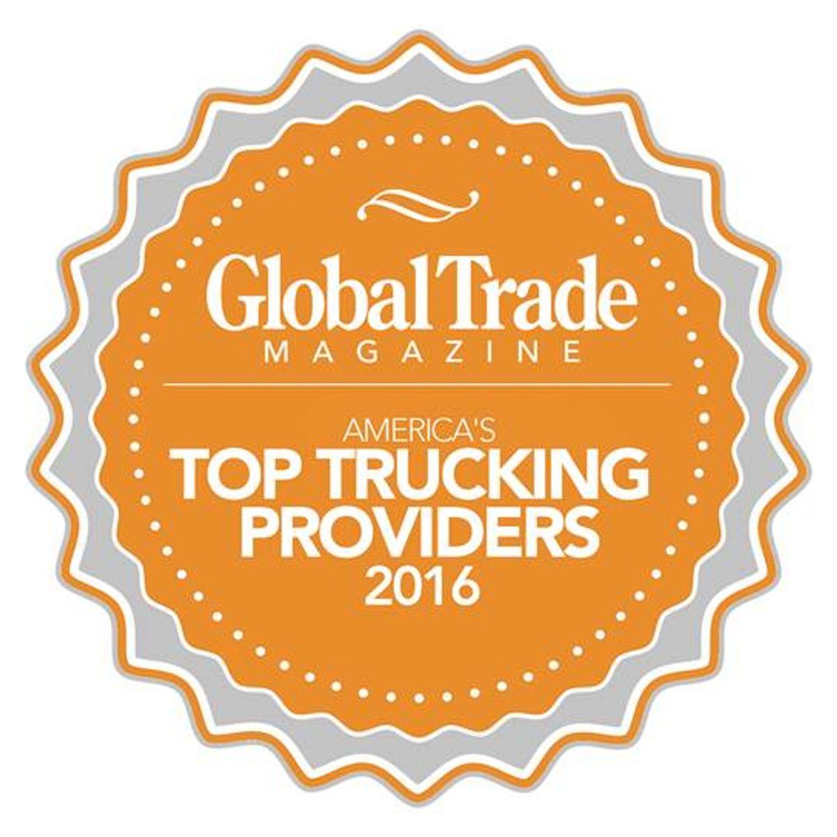 Penske Logistics is Global Trade Magazine Top Trucking Provider