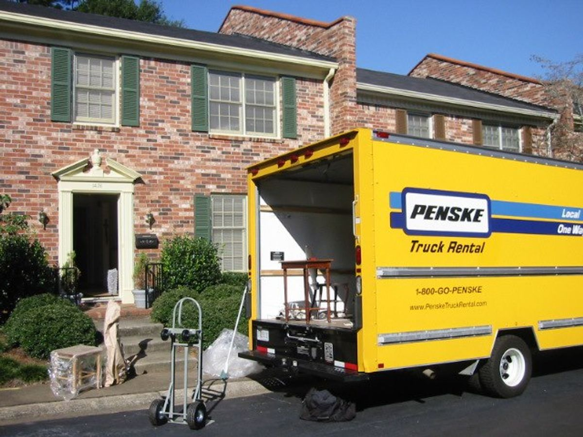 Spring Cleaning: Penske Can Help You Get Rid of Bulky Items
