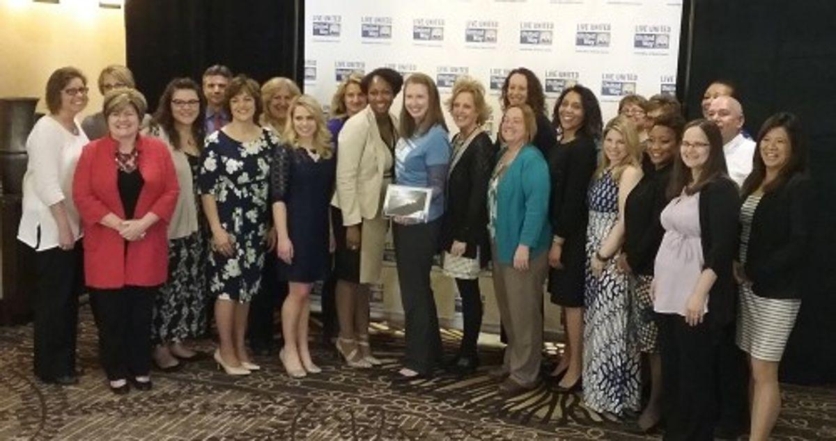 Penske Receives Eagle Award from United Way