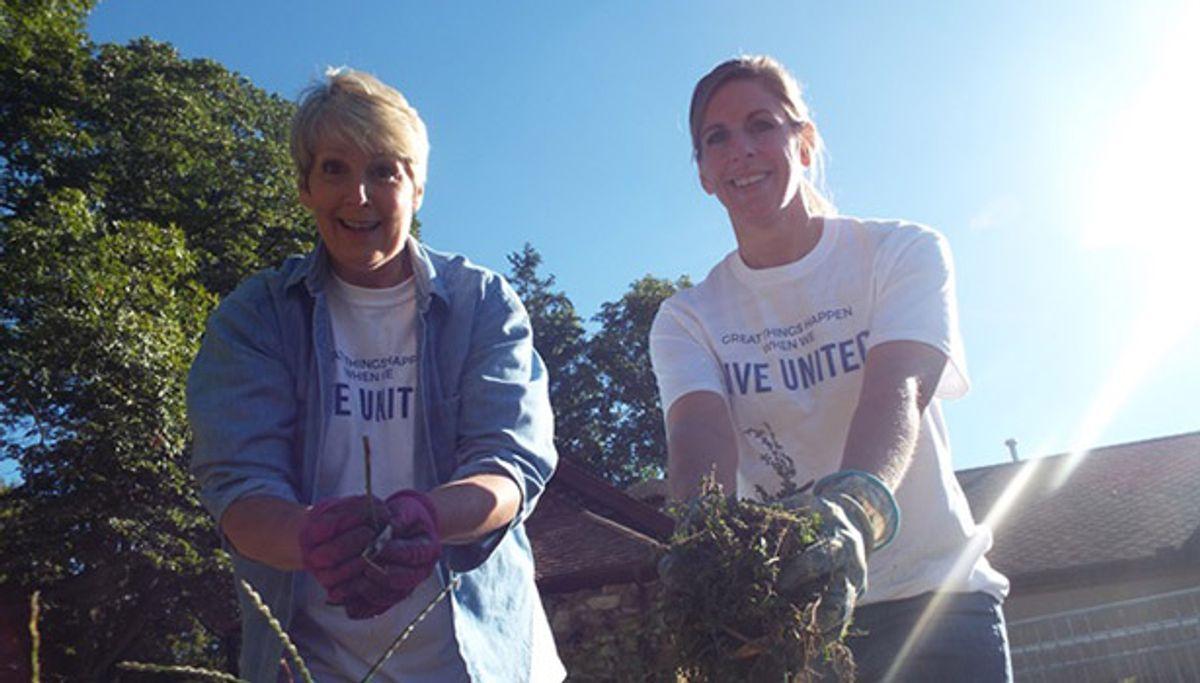 "Penske Associates Put ""Caring"" in Day of Caring Volunteerism Efforts"
