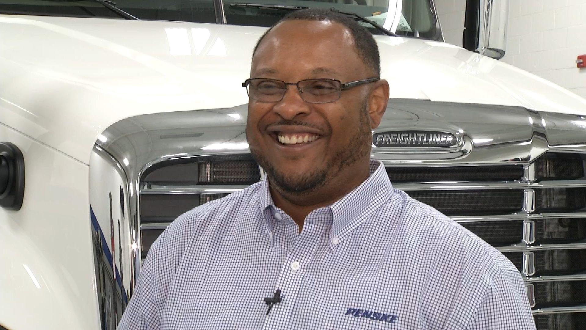 Penske Logistics Truck Driver Earl Taylor Named Trucking Industry Ambassador