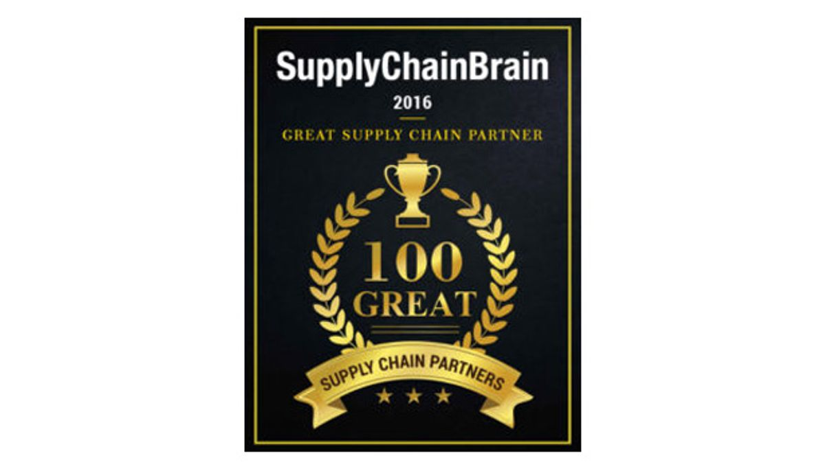 """Penske Named a """"Great Supply Chain Partner"""" by SupplyChainBrain"""