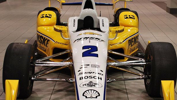 Juan Pablo Montoya Racing for Penske Truck Rental in IndyCar Series Sunday