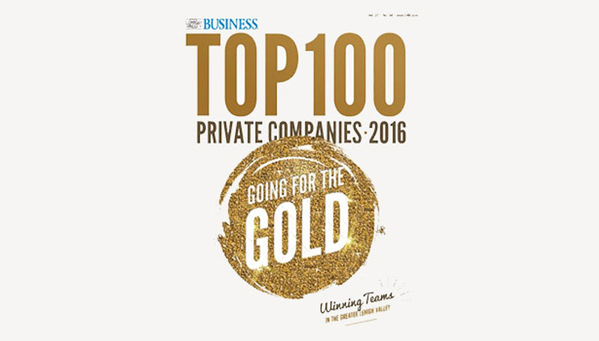 Penske Ranked Third Among Top 100 Private Companies in Lehigh Valley