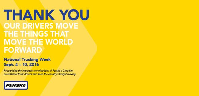 Thanking Truck Drivers for Moving the World Forward One Delivery at a Time