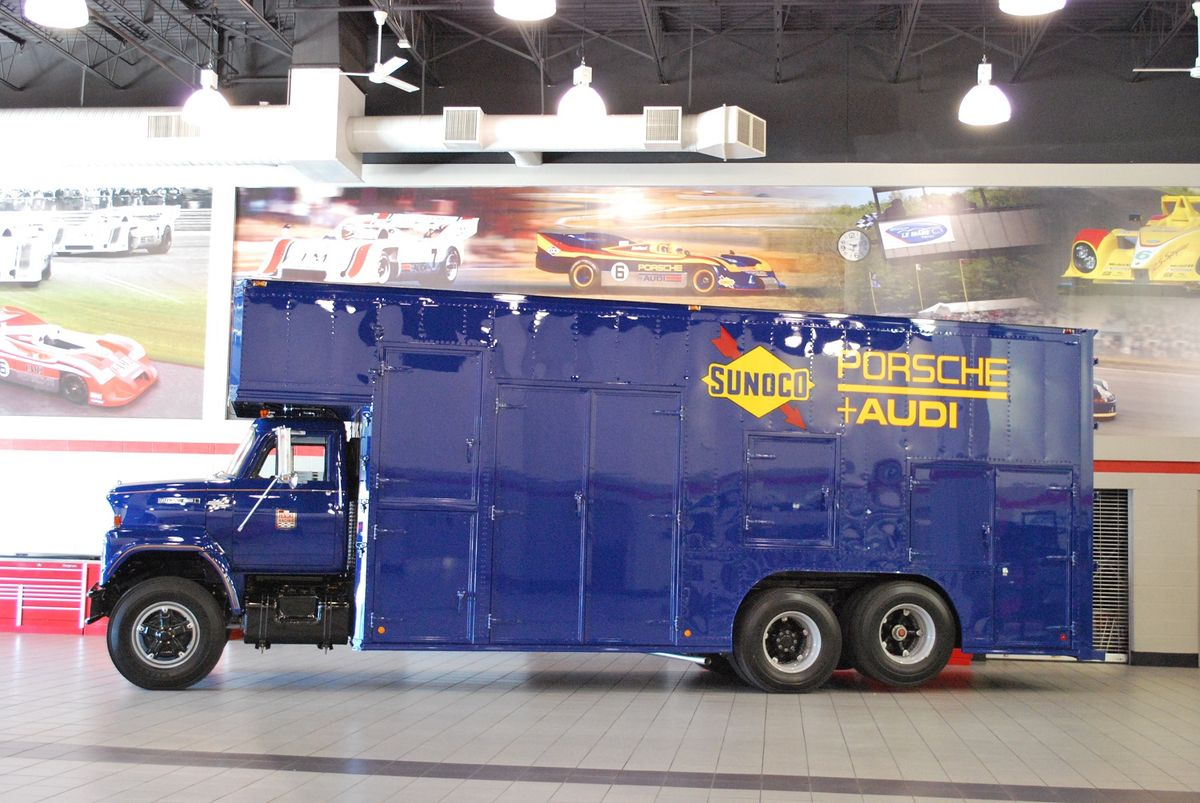 Penske Restores Iconic Transporter That Delivered Team Penske First Indy 500 Win