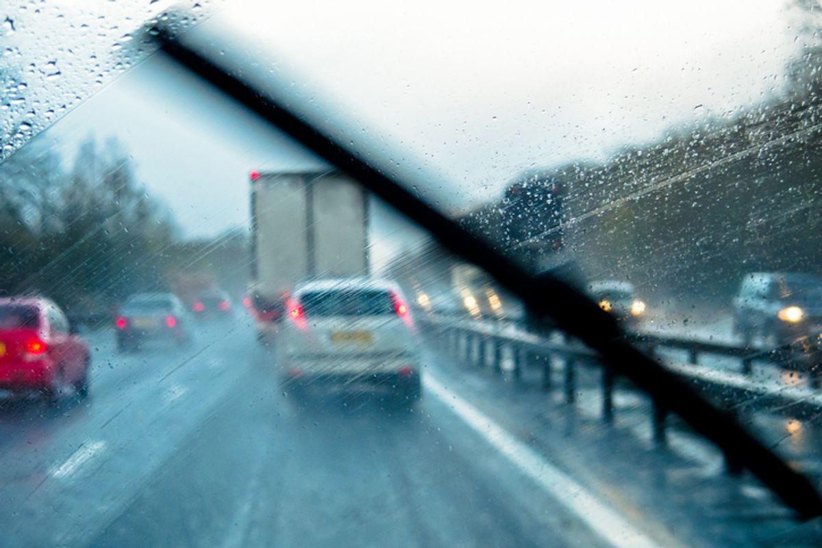 Take Precaution on Wet Roads