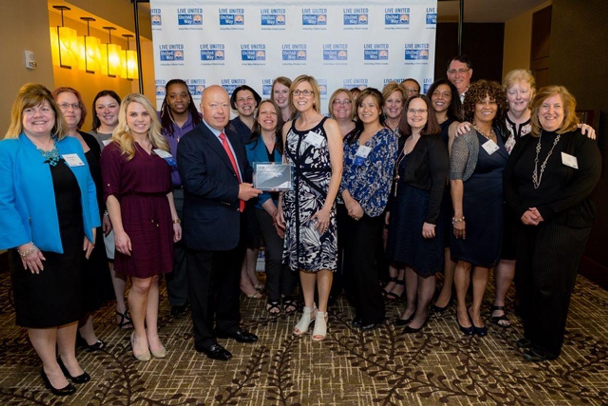 Penske Presented with United Way Eagle Award