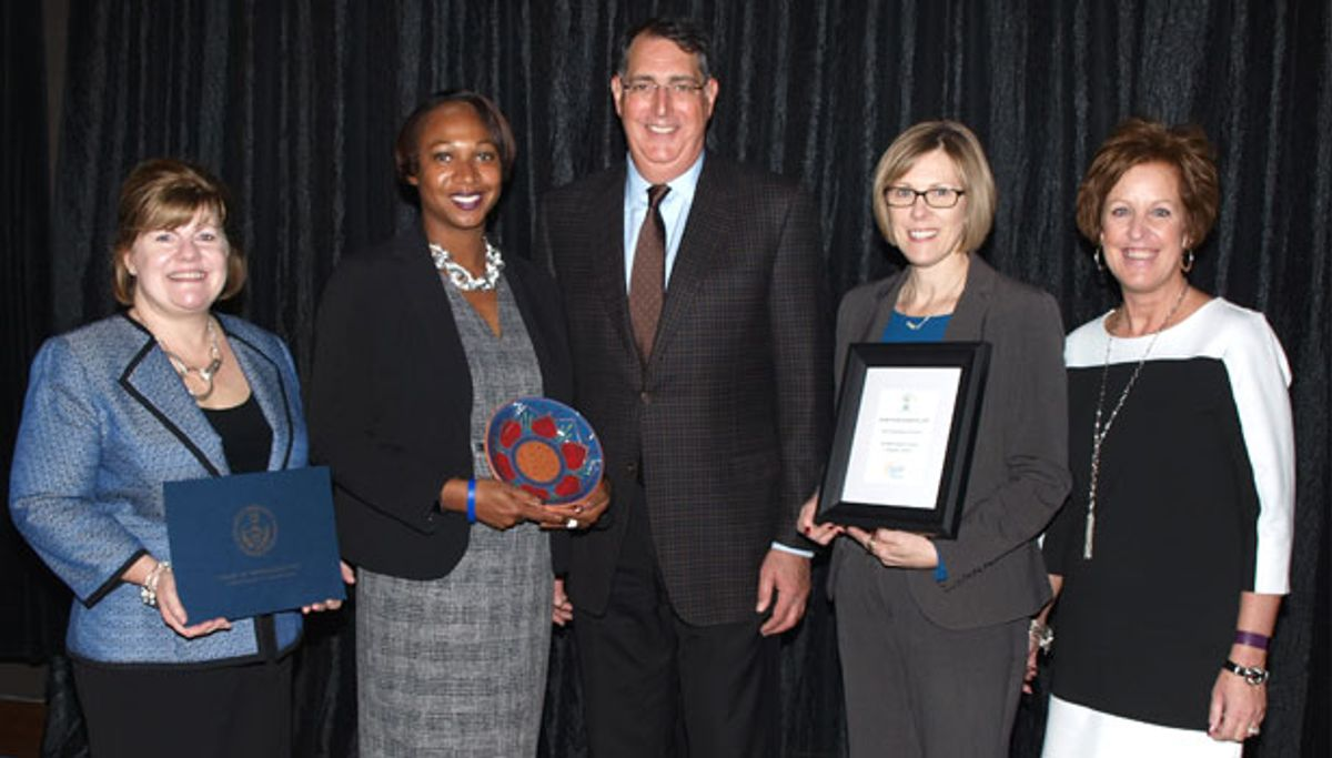 Penske Receives Award for Philanthropic Efforts