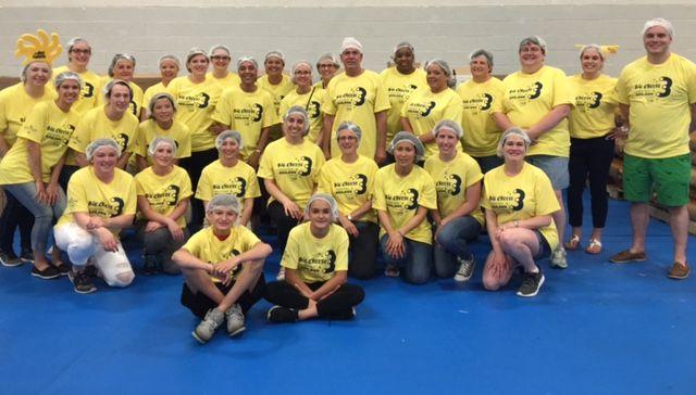 Penske Associates Help United Way Take a Bite Out of Hunger