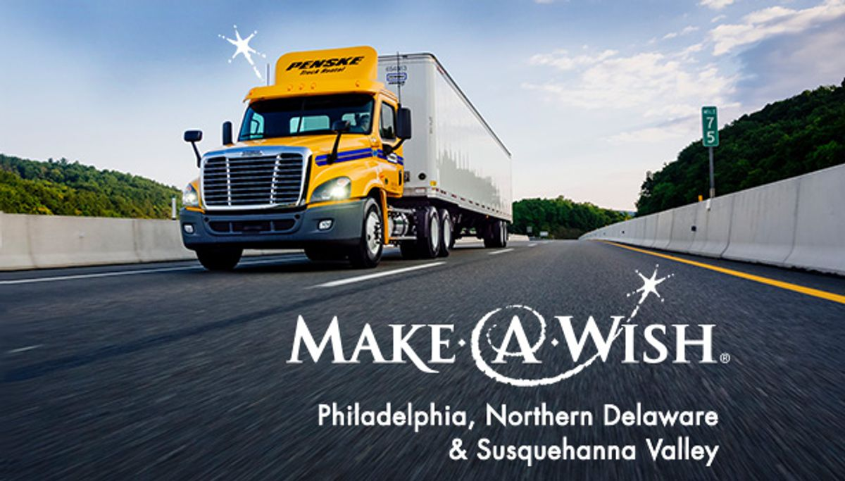 Penske Helping to Grant Children's Wishes in Mother's Day Convoy