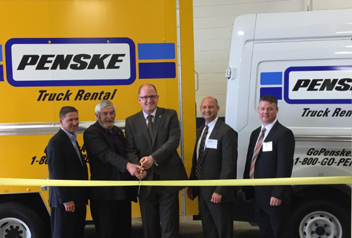 Penske Truck Leasing Opens in Windsor, Ontario