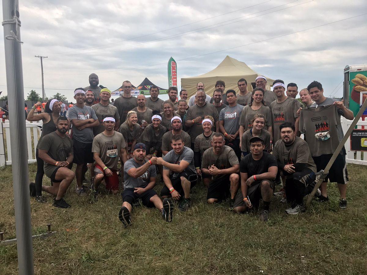 Penske Teams in Chicago Hit the Mud Running