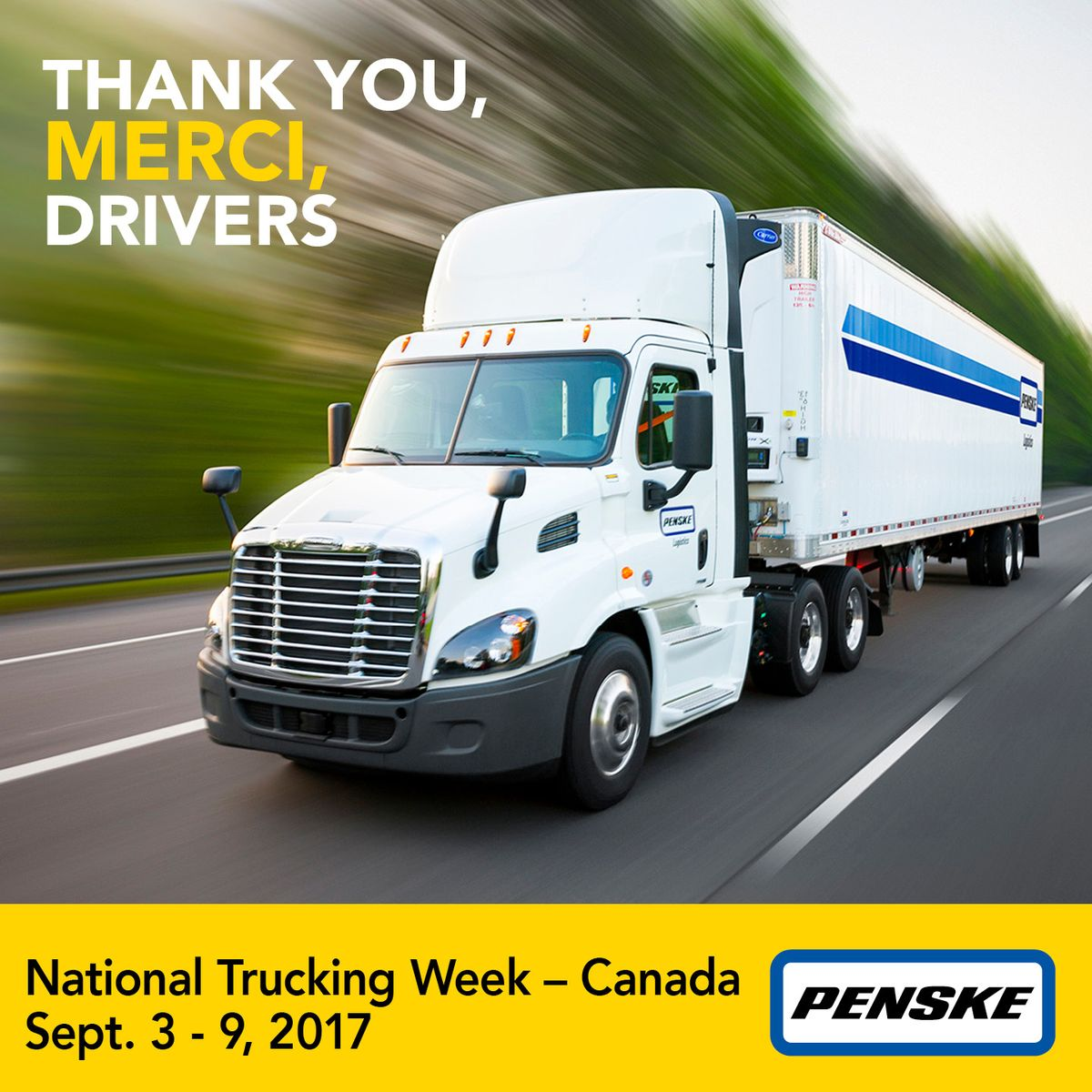 Thanking Truck Drivers for Moving Our World Forward