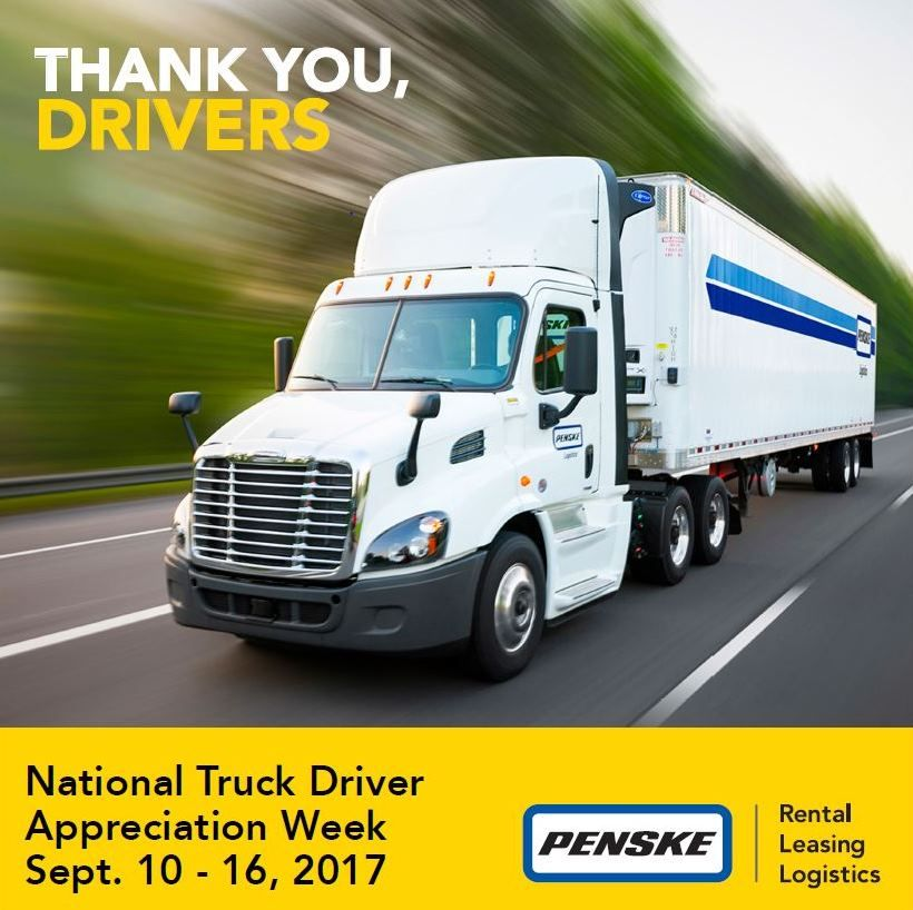 Professional Truck Drivers Move Our World Forward