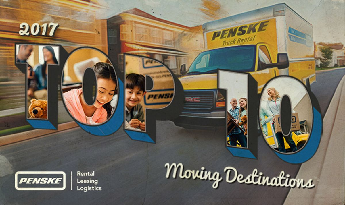 Top 10 Moving Destinations