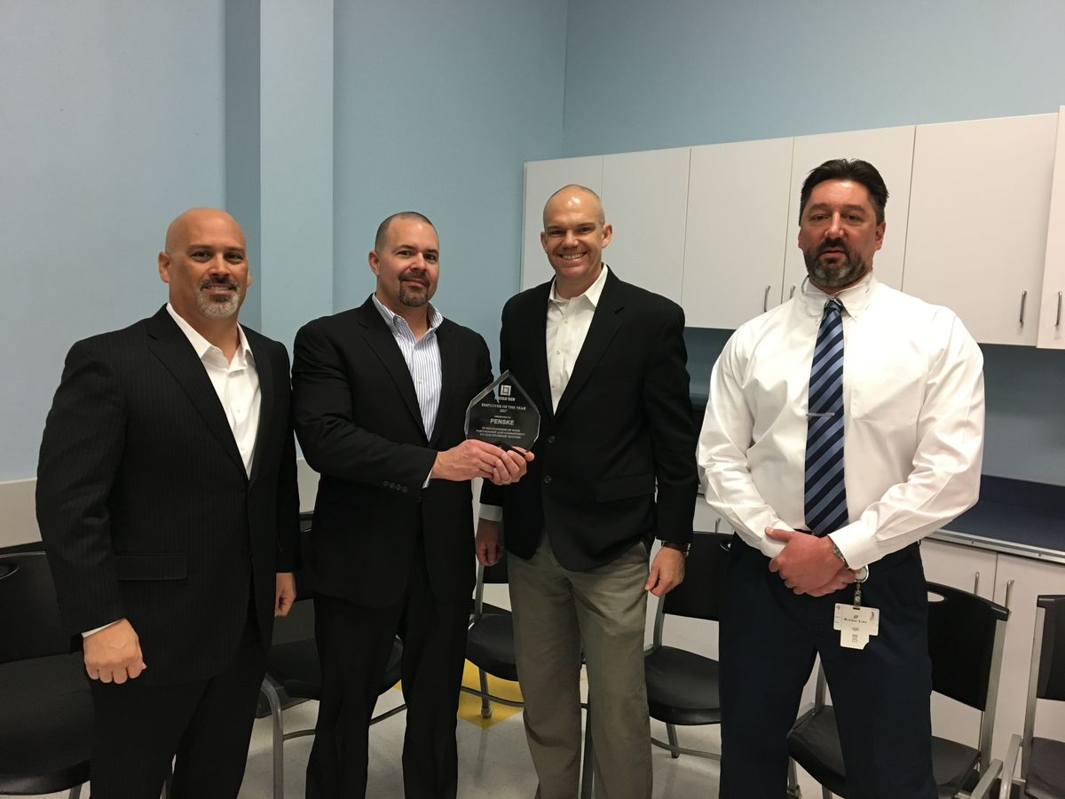 "Twice as Nice: Penske is Lincoln Tech's ""Diesel Employer of the Year"""