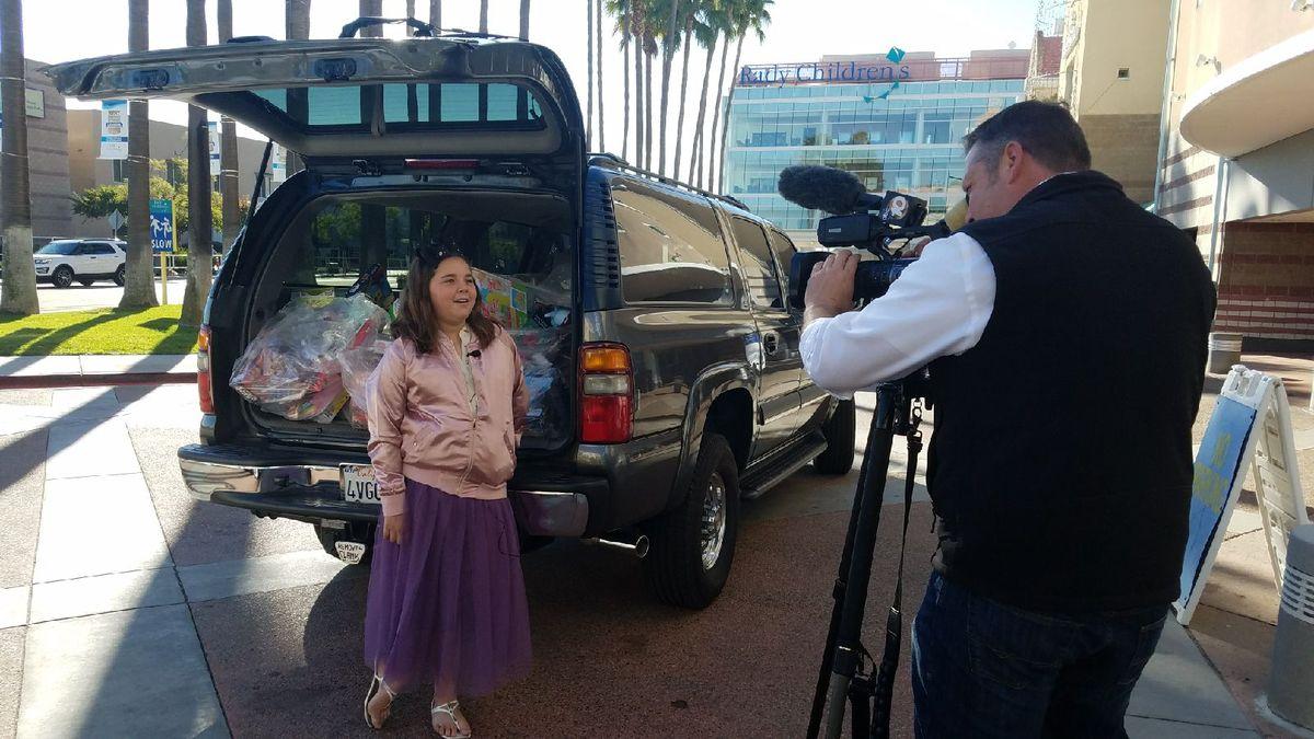 Penske Associates Assist Young Cancer Survivor's Toy Drive