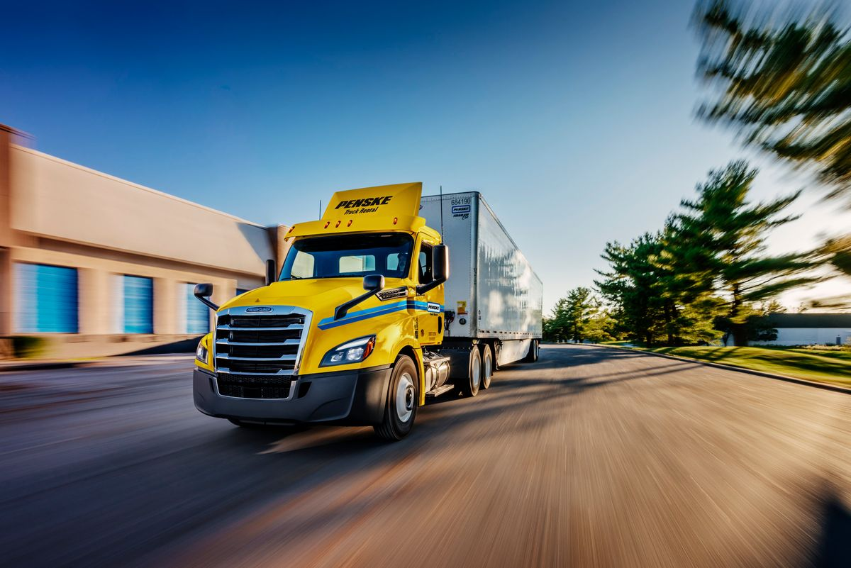 Penske Truck Leasing Opens New Facility in Zelienople, Pennsylvania