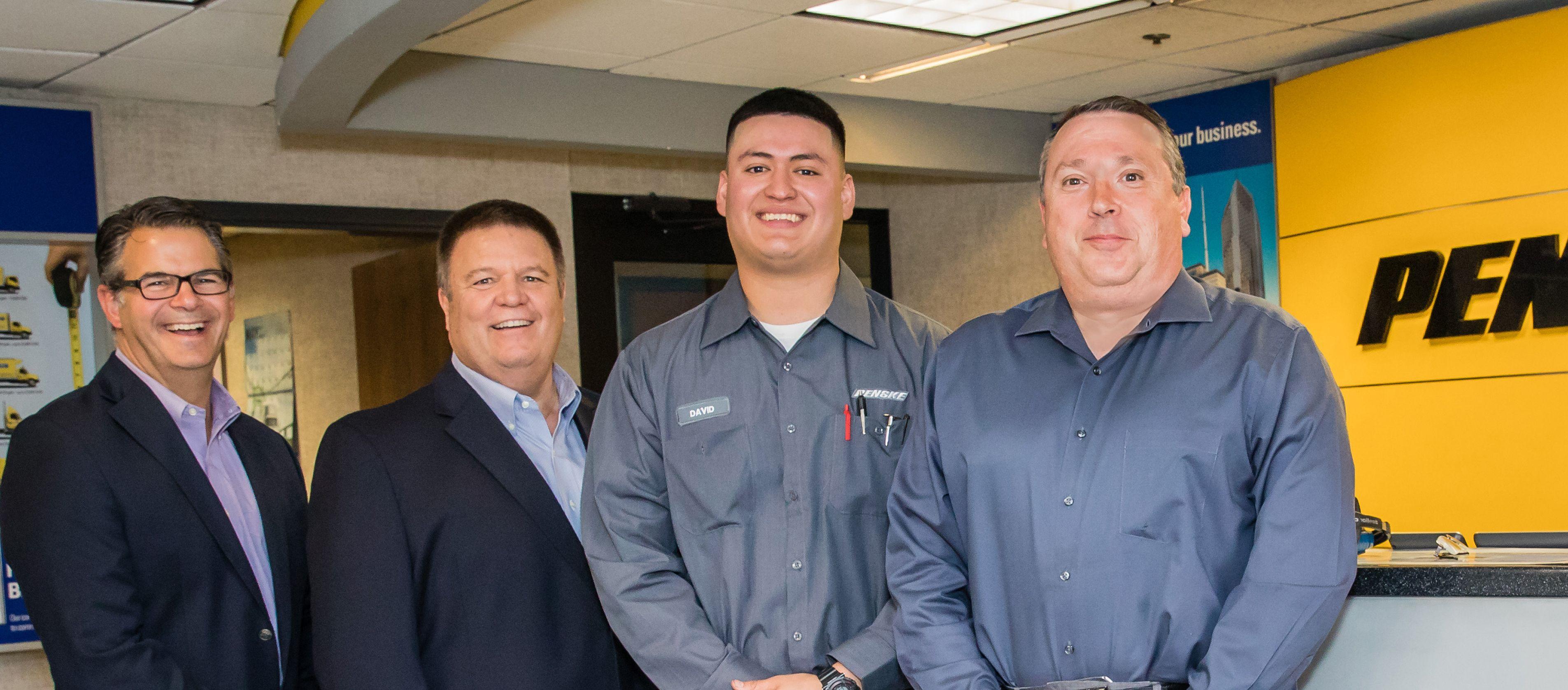 Penske Truck Leasing Completes 1 Millionth Voice-Directed Preventive Maintenance Inspection