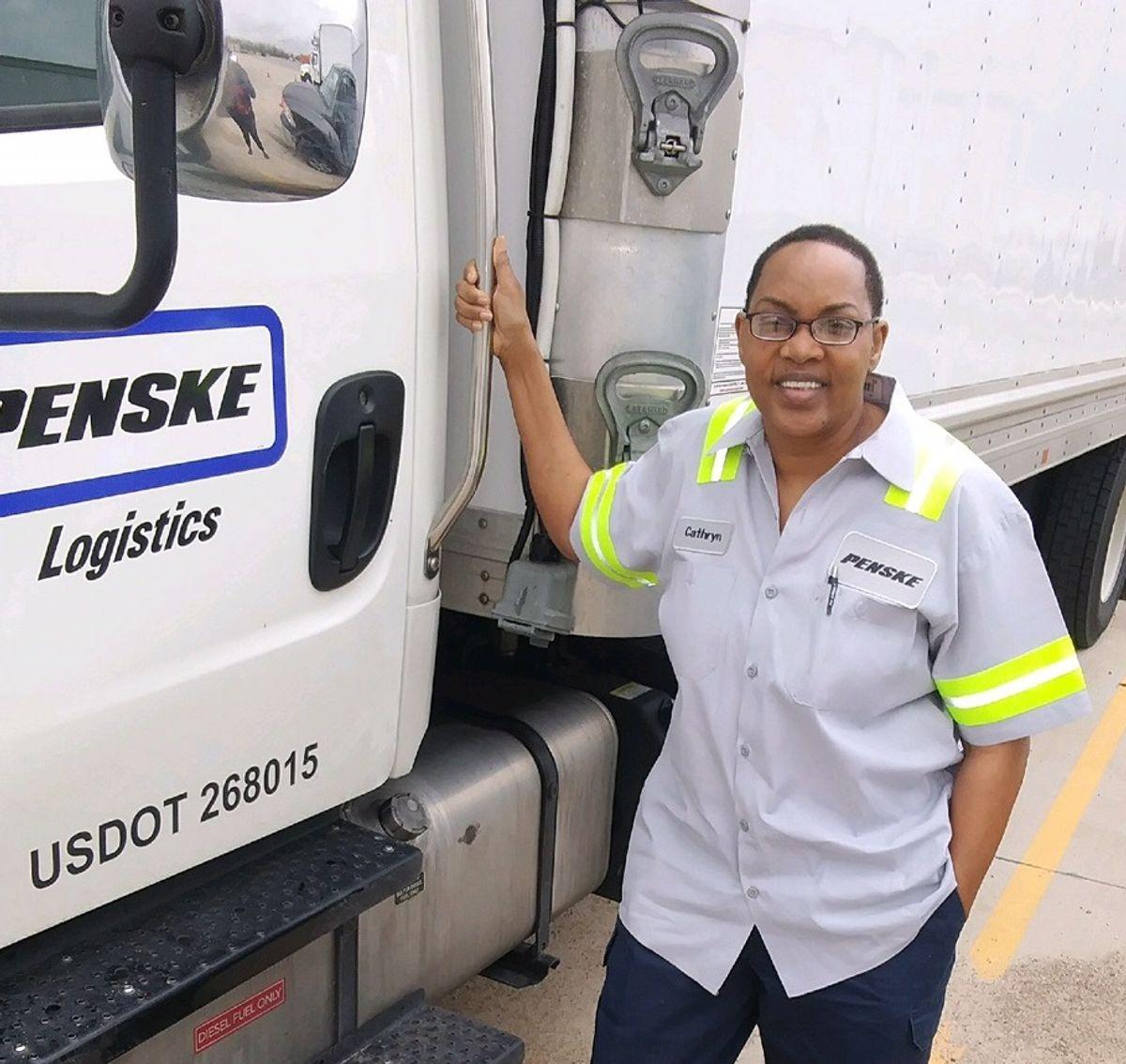 Penske Professional Truck Driver Charts Path to Rewarding Career