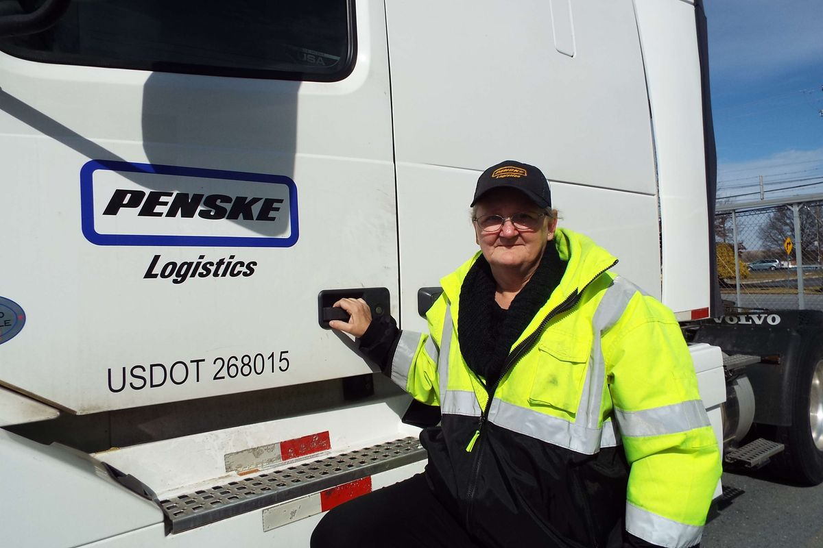Third Generation Professional Truck Driver Finds Joy in Her Role