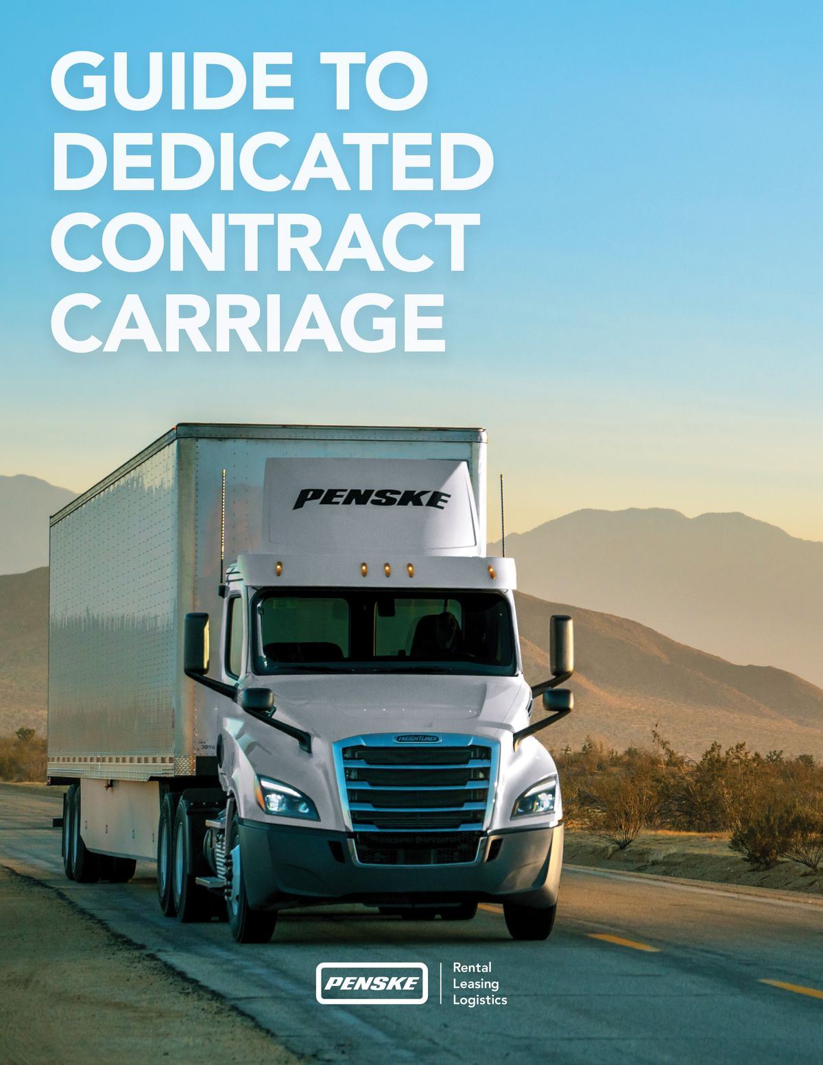 Penske Logistics Delivers New Guide to Dedicated Contract Carriage Services